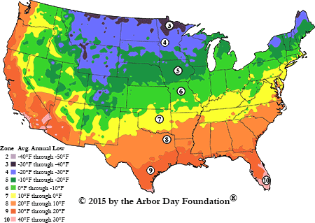 Plant Zone Maps Since the temps have shifted, what is our hardiness zone? | The