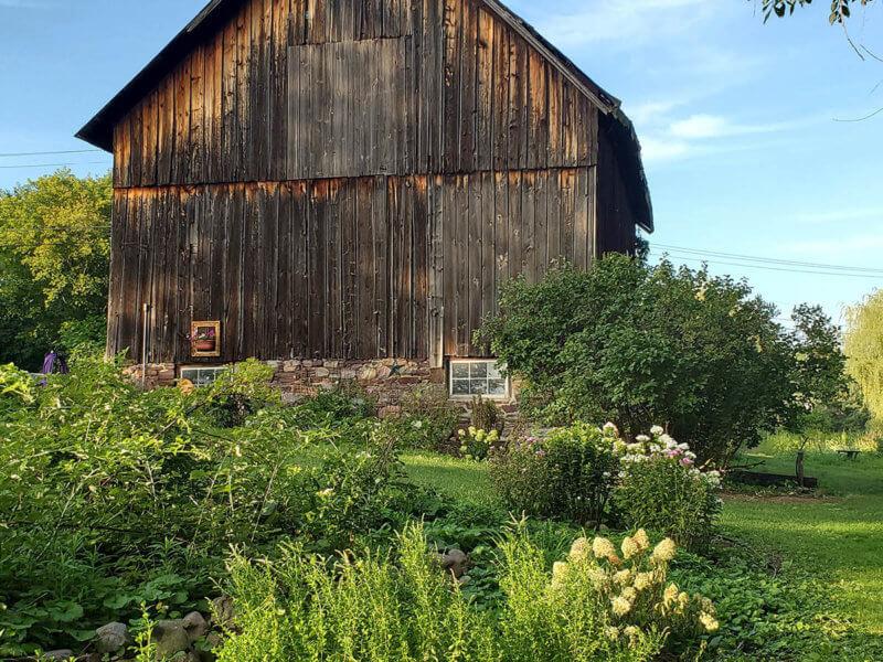 Deborah's barn on Church Hill Road. Photo contributed