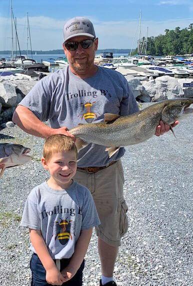 The Bond of Fishing with Passion - The Lake Champlain International Fishing Derbies. Photo by Bradley Carleton